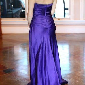 Davids Bridal Dresses - Beautiful floor length evening gown